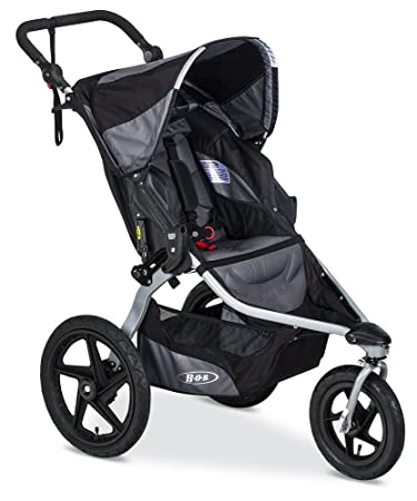 Bob Revolution Flex 2 0 Jogging Stroller Up To 75 Pounds Upf 50 Canopy Adjustable Handlebar Black