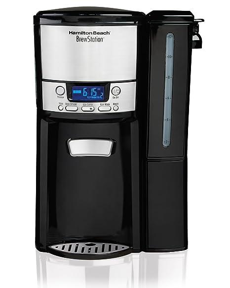 amazon com hamilton beach 12 cup coffee maker programmable rh amazon com hamilton beach brewstation coffee maker instructions Hamilton Beach BrewStation Deluxe