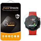 (2 Pack) Supershieldz Designed for Garmin Forerunner 55 / 45s / 45 Tempered Glass Screen Protector, Anti Scratch, Bubble Free