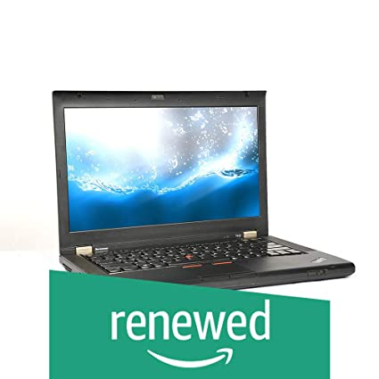 (Renewed) Lenovo Thinkpad T430 14 1-inch Laptop (3rd Gen Core I5  3320M/8GB/256GB SSD/Windows 7 Pro 64 Bit/Integrated Graphics), Black