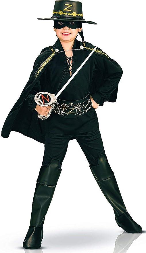 Rubies I-37426M - Disfraz de Zorro para niño, Talla M (5-7 años ...