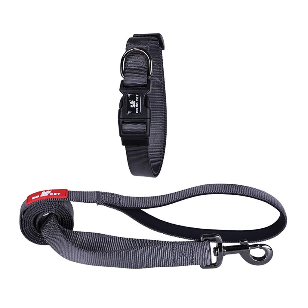 3  MDSADDSD Pet Dog Leashes Durable Anti Pull Chain Rope Collars for Small Medium And Large Dogs Walking And Traning Pet Supplies (color   3 , Size   M)