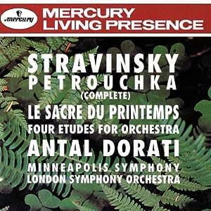 Stravinsky: Petrouchka (Complete) / Le Sacre Du Printemps (Rite of Spring) / Four Etudes For Orchestra