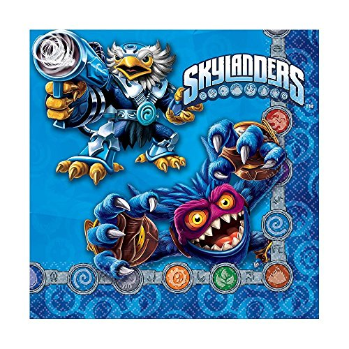 Skylanders Luncheon Napkins, Party Favor -