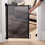 Perma Child Safety Outdoor Retractable Gate Extra Wide 71 Grey