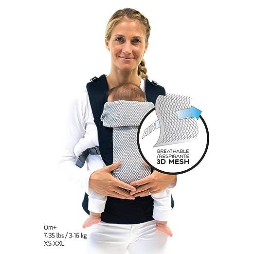 und Kleinkind-Tragetasche Verstellbar von 2,3 bis 45lbs Beco 8 verstellbare Baby