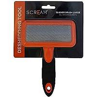 Scream 35-SG03585 LOR Slicker Brush, Loud Orange, Large