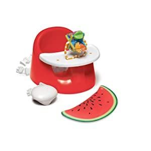 Prince Lionheart bebePOD Flex Plus Baby Seat, Watermelon Red