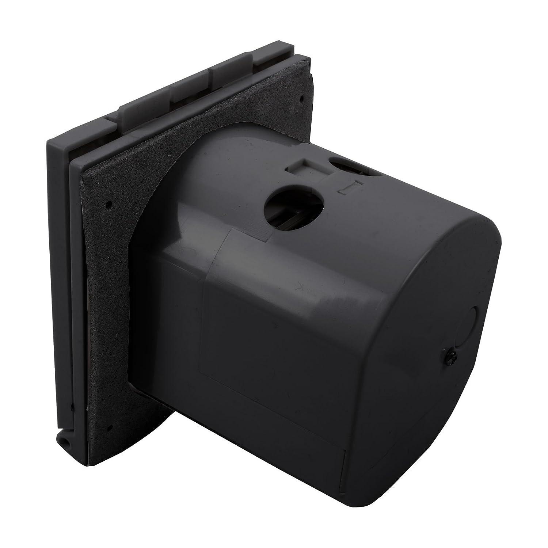 Ha ba 3/pines IP44 /240/V 16/A 200/ CEE enchufe de exterior negro contra salpicaduras de agua