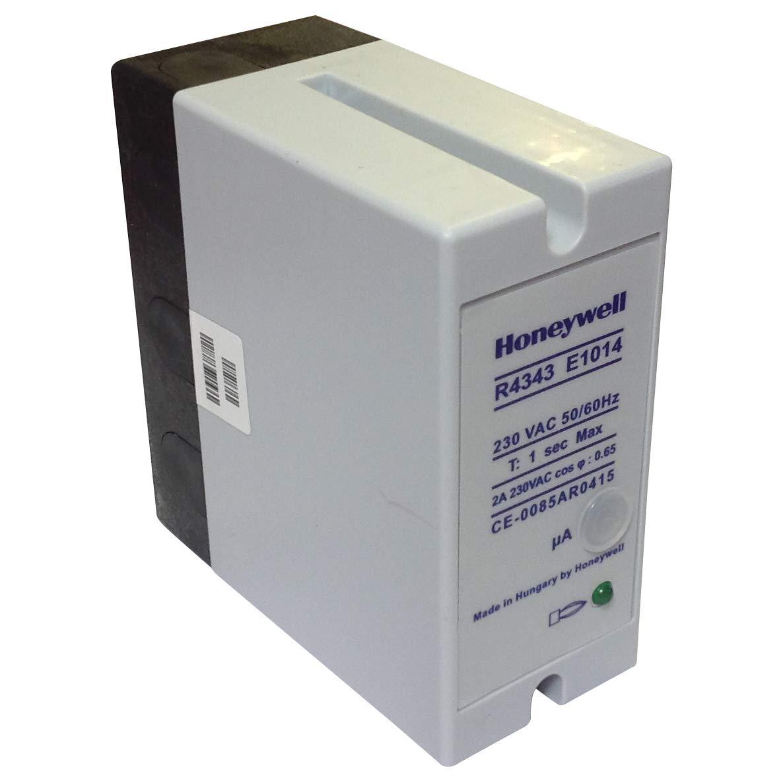 R4343E1014 | HONEYWELL RELAY FLAME DETECTOR 2AMP 230VAC 50/60HZ 1SEC MAX: Amazon.es: Industria, empresas y ciencia