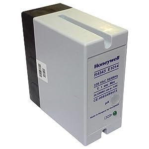 R4343E1014   Honeywell Relay Flame Detector 2AMP 230VAC 50/60HZ 1SEC MAX