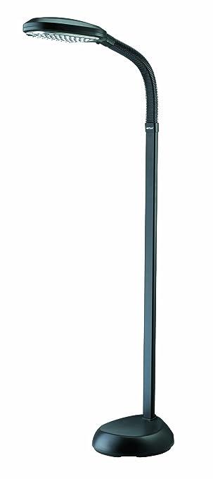 Verilux original natural spectrum deluxe floor lamp graphite