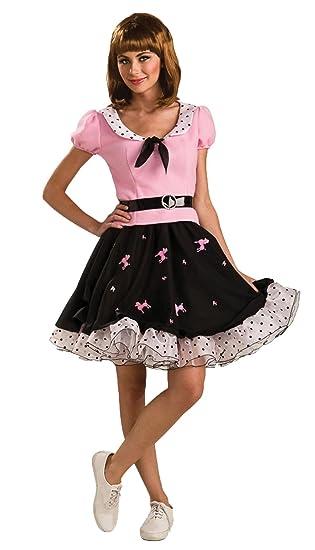 Rubbies - Disfraz de Grease para mujer, talla 10-14 años ...