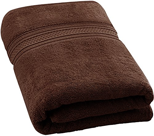 Utopia Towels 700 GSM Premium Cotton Bath Towel (Dark Brown, 27 x 54 inch) Luxury Bath Sheet Perfect for Home Bathrooms Pool and Gym Ring-Spun Cotton