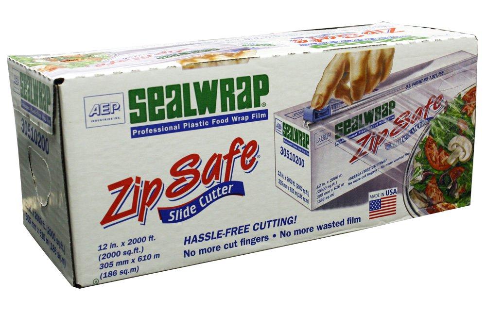 "AEP 30510200 Zipsafe Sealwrap, 12"" x 2000'"