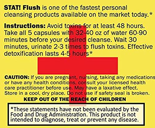 Stat Flush 5 capsules