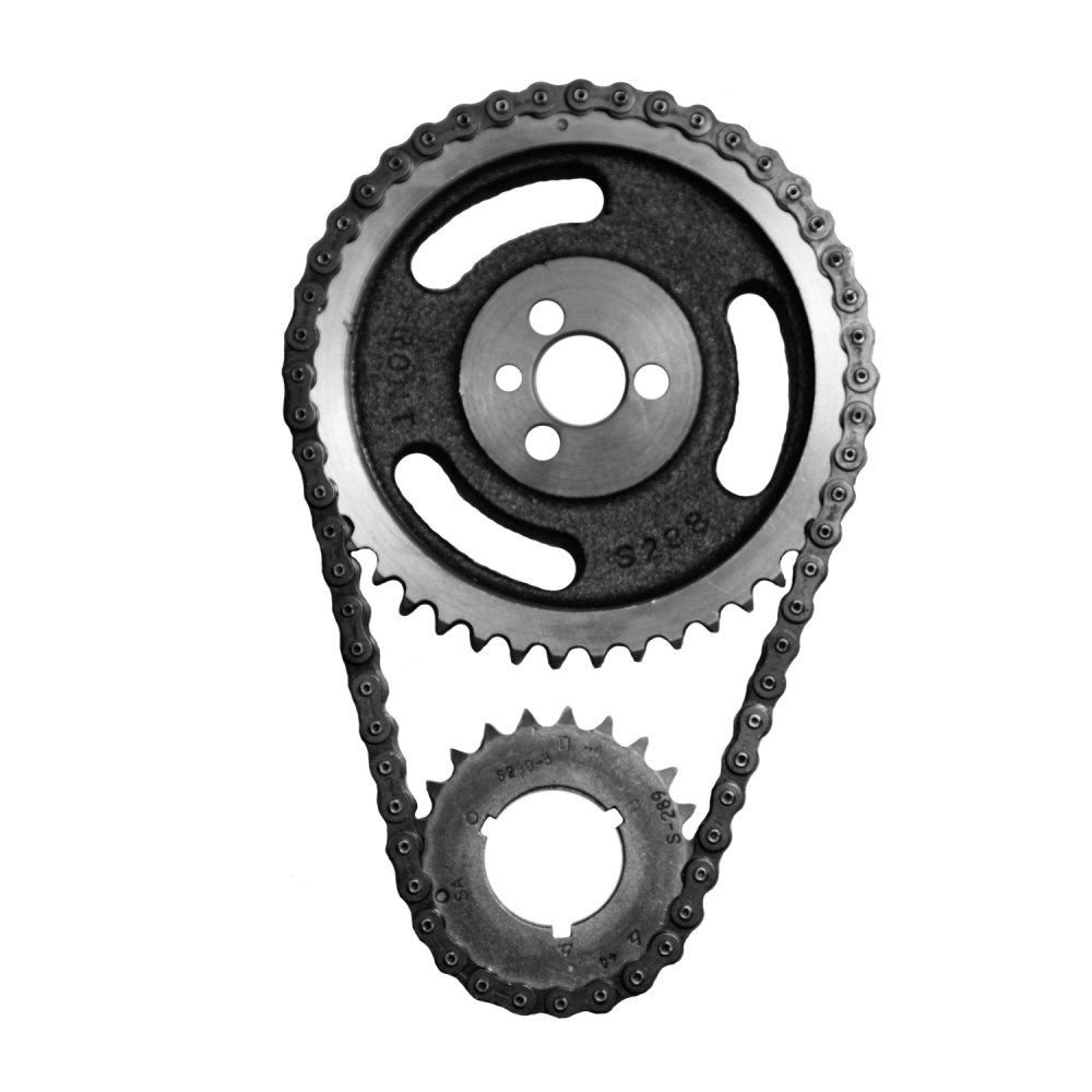Sa Gear 73017 3 Sbc Chevy Hd Double Row Timing Chain 327 350 Problems 383 400 Keyway Automotive