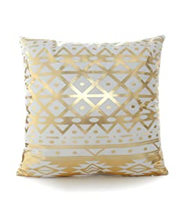 Luxsea Hot stamping printing golden pillowcase