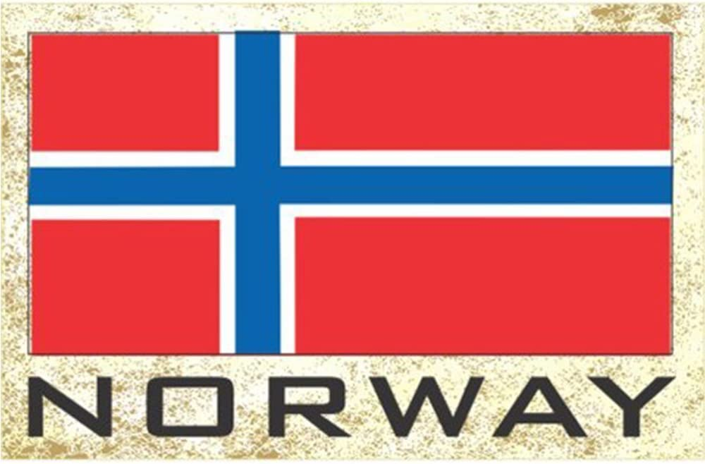 Flag Fridge Refrigerator Magnets – Europe (Country: Norway)
