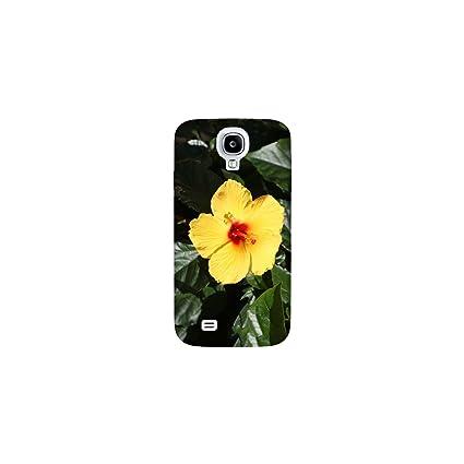 Carcasa para Samsung Galaxy S4 - flor hibisco: Amazon.es ...