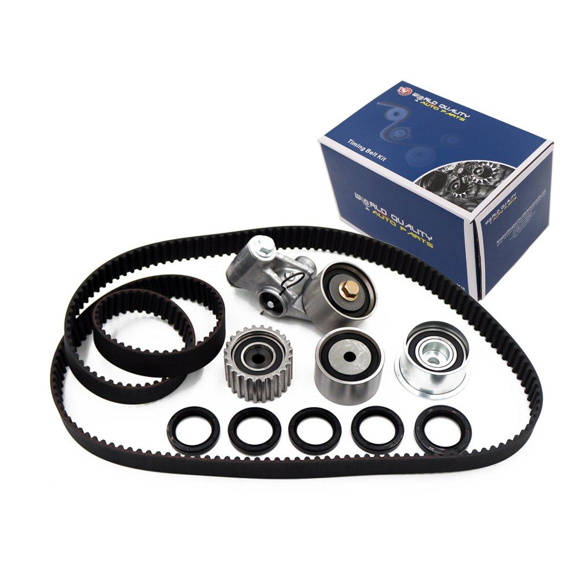 Timing Belt Kit Tensioner for 2000-2009 Subaru Baja Legacy Outback 2.5L H4 SOHC 16V