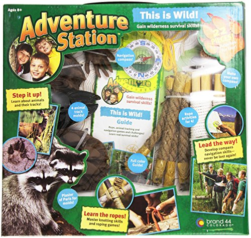 """Adventure Station """"This is Wild"""" Survival Kit"""