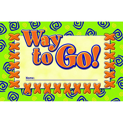 NORTH STAR TEACHER RESOURCE Way to Go! Incentive Punch Cards ()