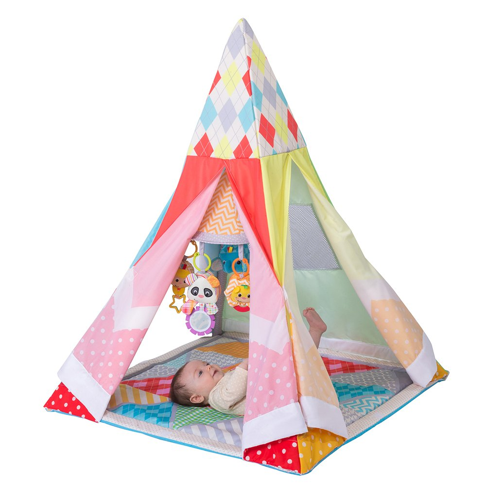 Infantino Grow-With-Me Playtime Teepee, Multicolor 216-143