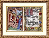 Framed Art Print 'Prayerbook Illuminated, 1520' by Nicolaus Glockendon