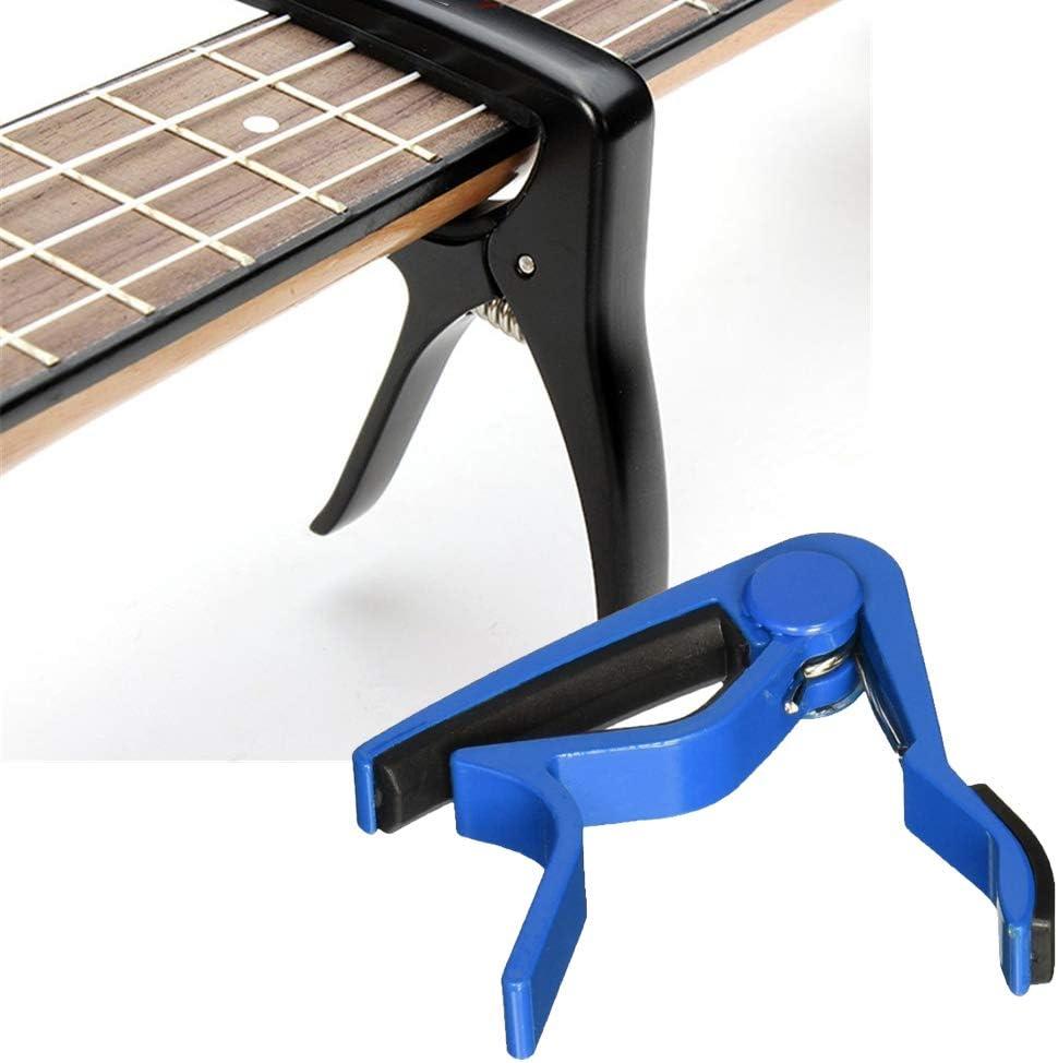 Hilai Liroyal - Cejilla para guitarra (cambio rápido), color verde ...