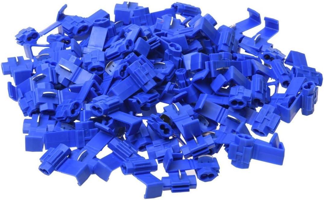 100 X conector de empalme de Hoja Azul