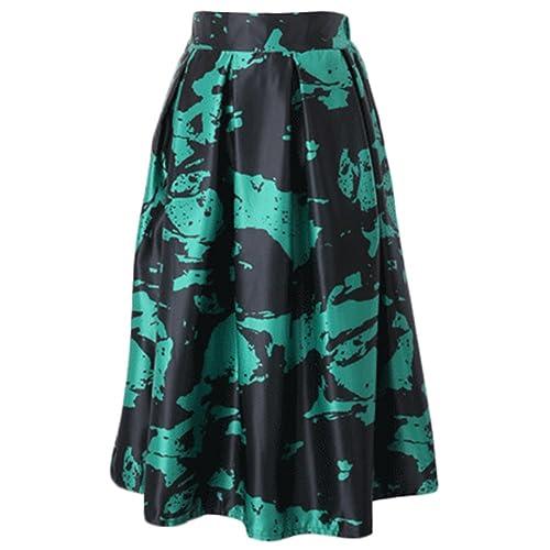 VLUNT - Falda - plisado - para mujer