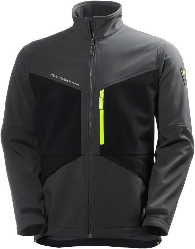 /Pack of 1/Helly Hansen Workwear Winter Jacket/ 71351 AKER/ Dark Grey /XXXL