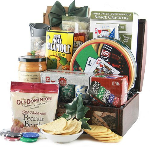 Lady Luck - Poker Gift Basket by Design It Yourself Gifts & Baskets