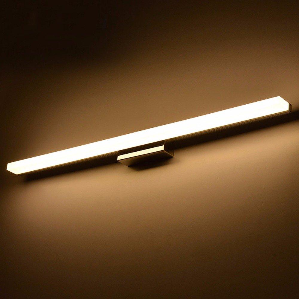 BoYX Acryl Spiegelleuchte 40Cm  120Cm Moderne Kosmetische Acryl Wandleuchte Bad Beleuchtung Wasserdicht 85  265V,120Cm Warmweiß