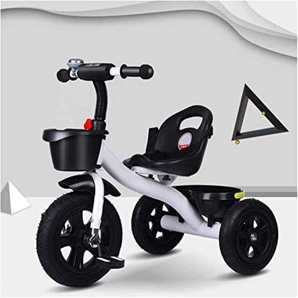 AJH Triciclo para niños de Edad de 4 Mango, Triciclo Niños Ride On 3 Wheeler Triciclo Trike Edad 1-3-6 Bicicletas Inteligente Childrens Triciclo Niños