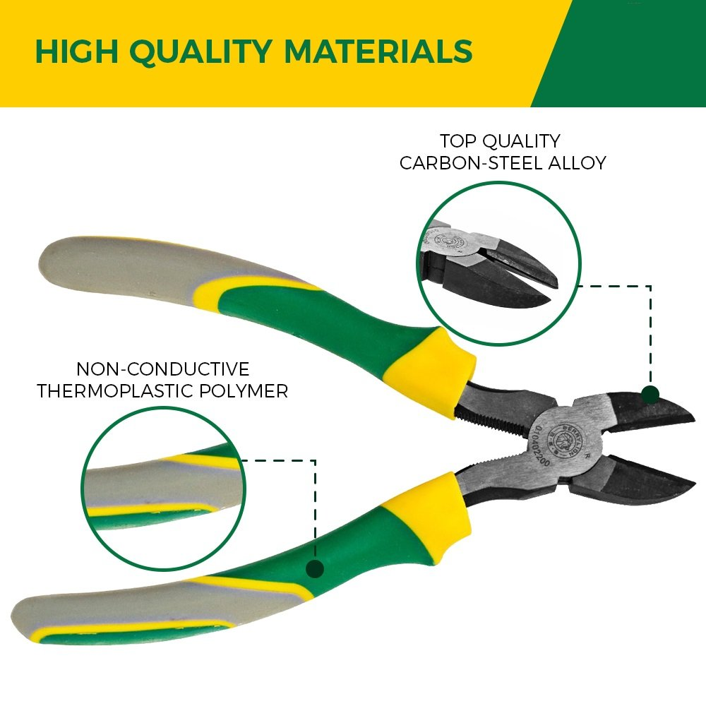 Berrylion Heavy Duty Wire Cutters - Carbon Steel | 8-Inch High ...