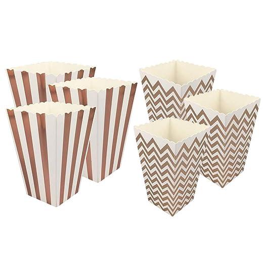 Toyvian Popcorn Favor Boxes Mini Bolsas de Palomitas de ...