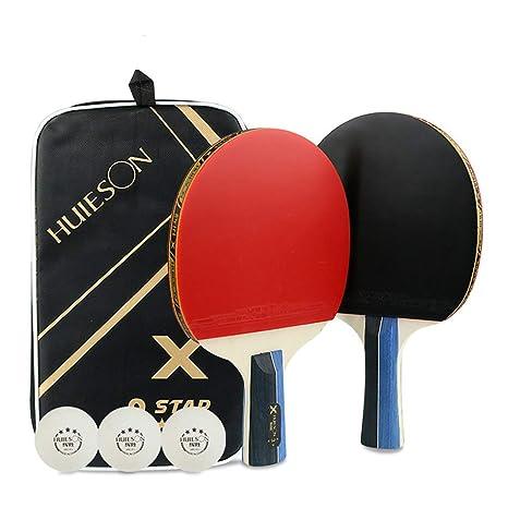 HUIES0N Juego de Tenis de Mesa, Juego de Mezcla de Tenis de Mesa ...