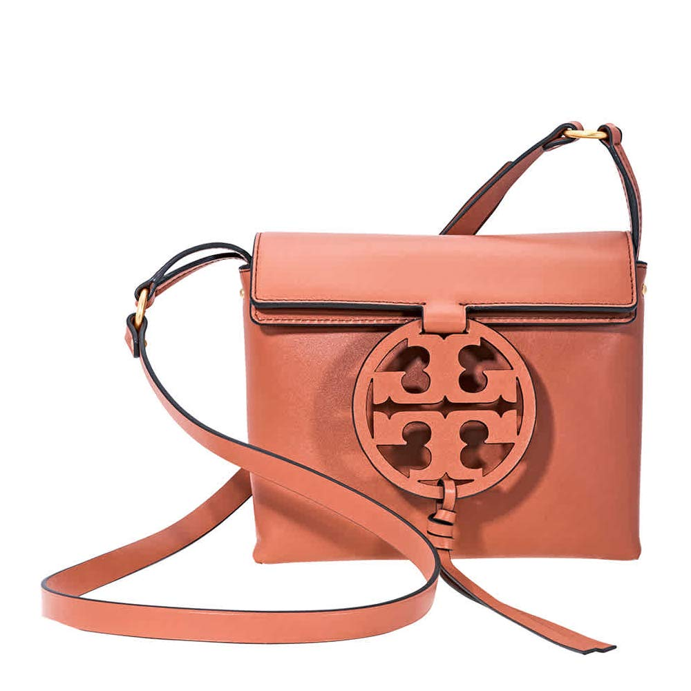 e45a8687f42 Amazon.com  Tory Burch Miller Crossbody in Tramonto  Clothing