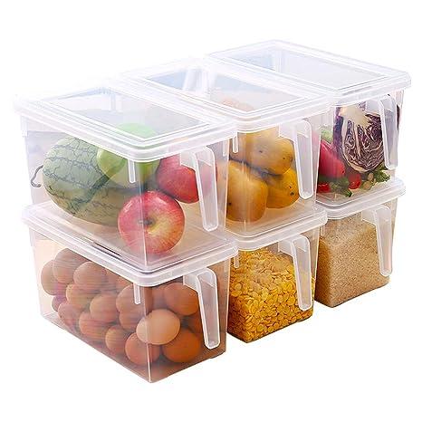 Refrigerador Caja de Almacenamiento 6 Cajas de ...