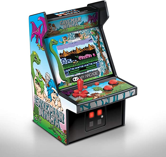 The Best My Arcade Caveman Ninja Micro Player