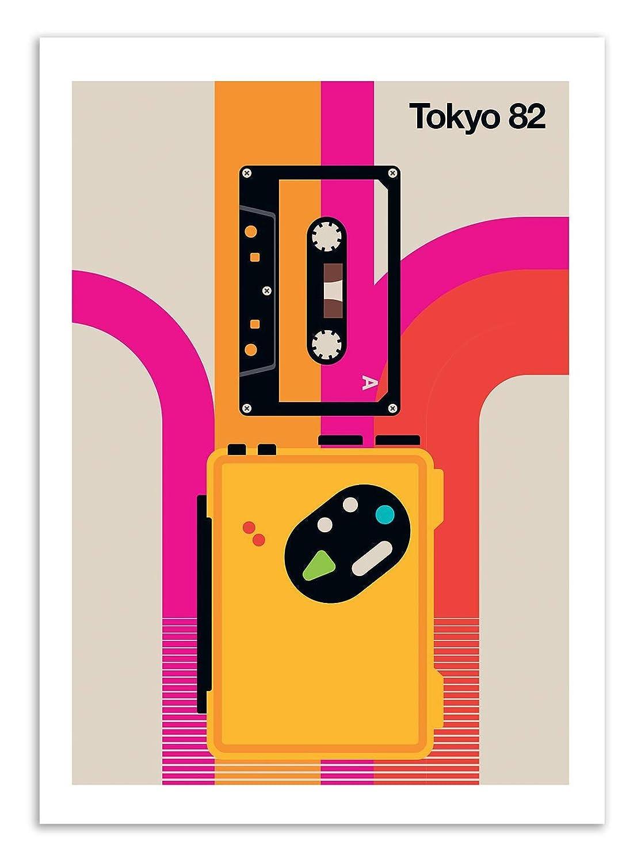 Art-Poster Tokyo 82 Bo Lundberg