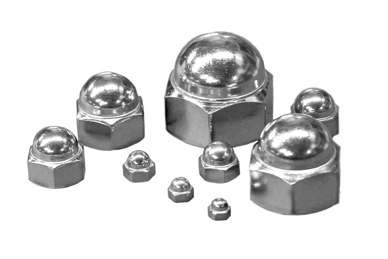 Lot de 10 /écrous hexagonaux M6 A2 en acier inoxydable 304 DIN 1587