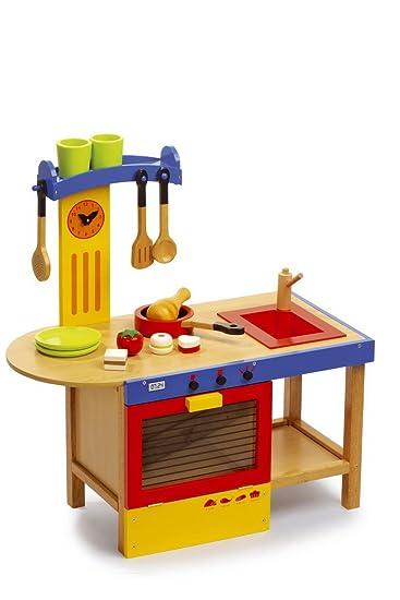 legler kinder spielkÜche holz kÜche kÜchenzauber: amazon.de: spielzeug - Küche Kinder Holz