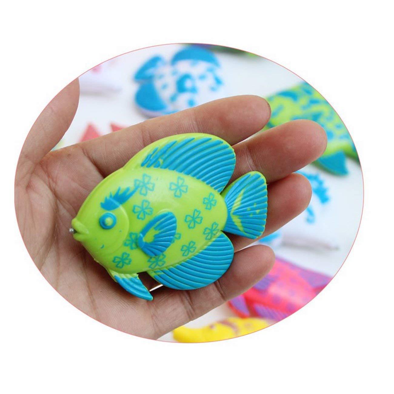 Socialism Creativo Juego de Juguetes de Pesca magn/ética de 7 Piezas Pesca Aprendizaje Educativo Juego de Juego Juego de Pesca Juguetes para ni/ños y ni/ñas-Multicolor-1