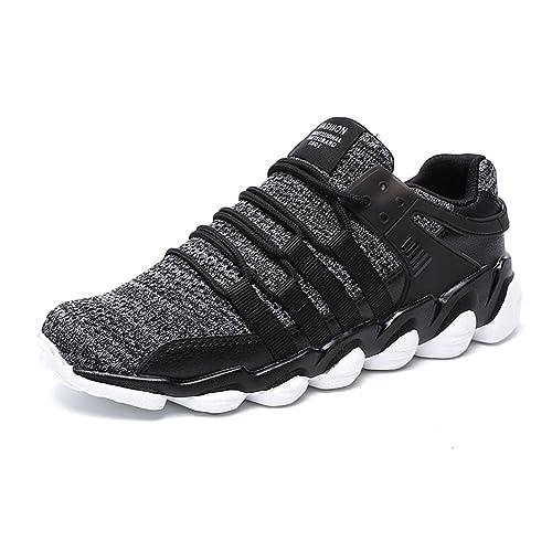 Mengxx Zapatos Para Correr EN Montaña y Asfalto Aire Libre y Deportes Zapatillas de Running Padel Para Hombre: Amazon.es: Zapatos y complementos