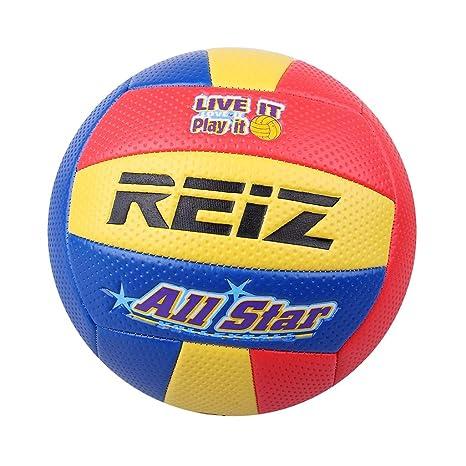 CUTICATE Pelota de Voleibol Tamaño 5 Balón de Cuero Entrenador ...