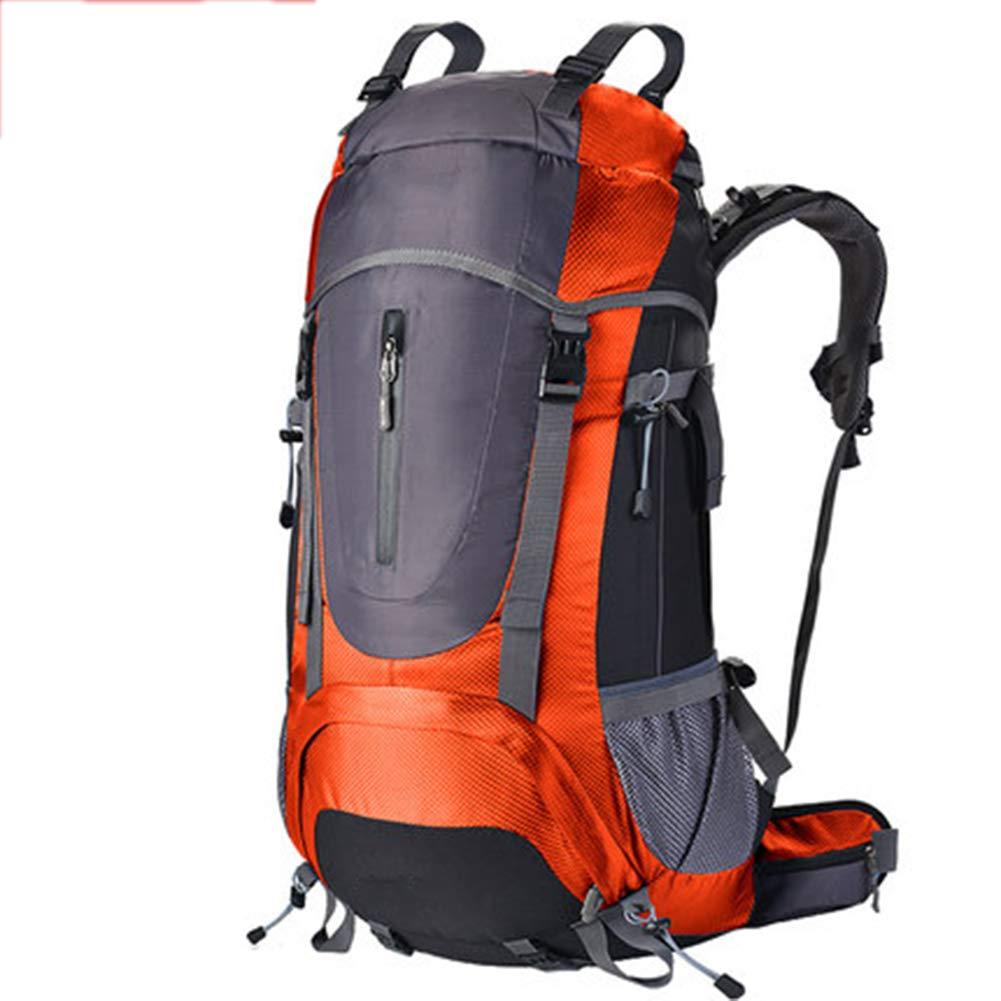 60L Outdoor-Sport Wanderrucksack, Nylongewebe, Felsklettern, Männer Und Frauen,Orange B07HCFGP5L Wanderruckscke Saisonaler heißer Verkauf