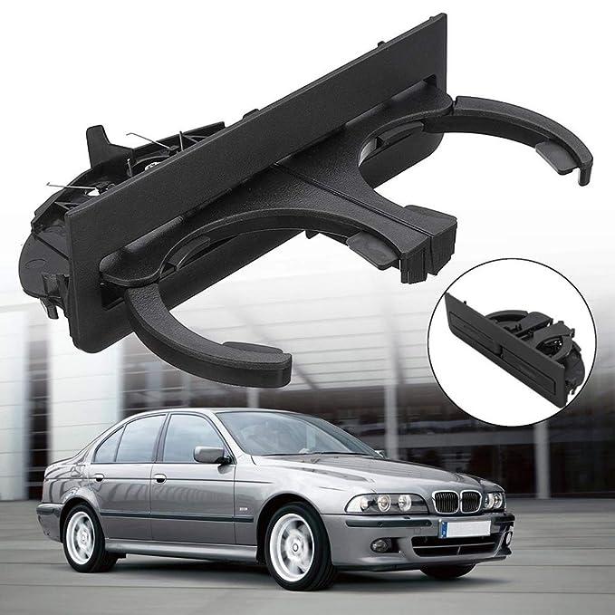 HshDUti 51168184520 - Portavasos para BMW Serie 5 E39, Negro: Amazon ...
